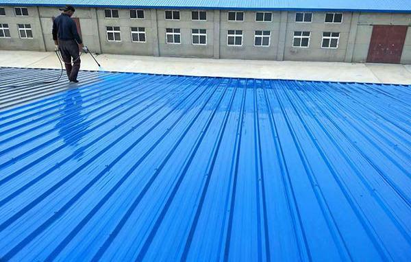 中普水性彩钢瓦漆及彩瓦施工步骤简述